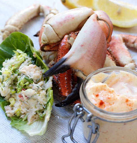 Crab Mayonnaise