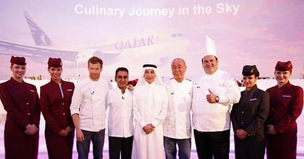 In Flight Chef for Qatar Airways