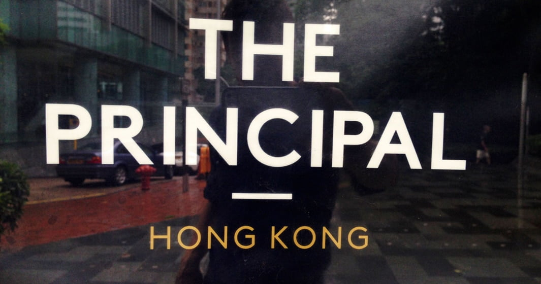 Cooking at the two Michelin star Principal restaurant in Hong Kong