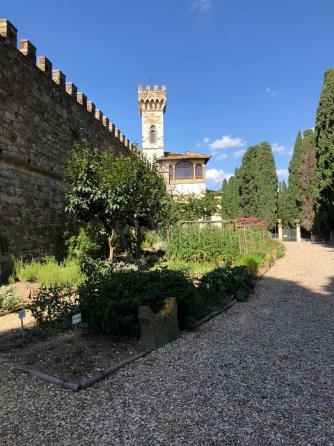 The Monastery Badia a Passignano garden 2