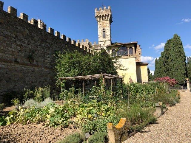 The Monastery Badia a Passignano garden 3