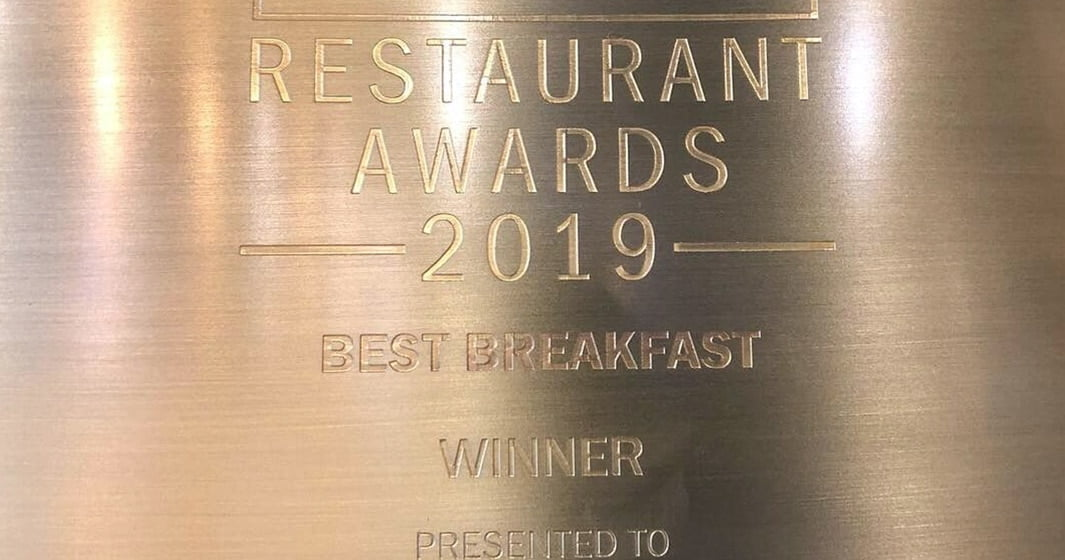 Pots, Pans & Boards wins Best Breakfast Award in Dubai