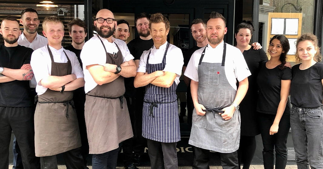 Chefs pop up dinner at Benedicts with Richard Bainbridge
