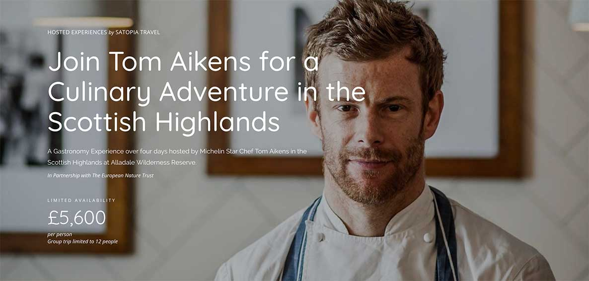 Join me for a culinary adventure in the Scottish Highlands
